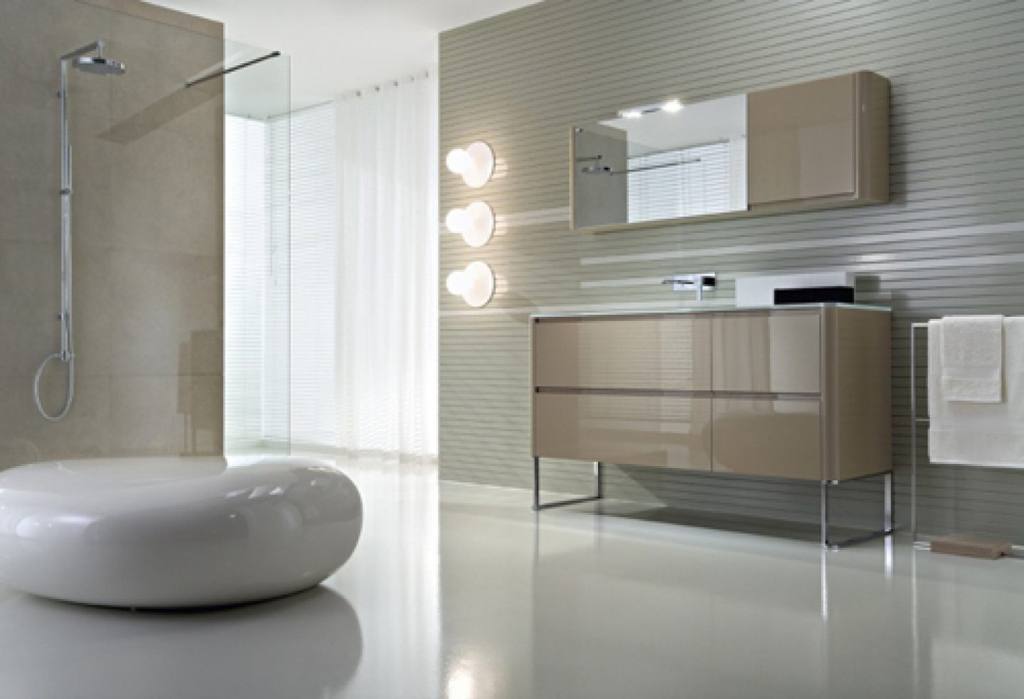 Baños Minimalistas Decoracion:Modern Bathroom Vanities