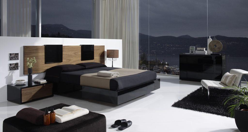 Cabecero moderno para un dormitorio de matrimonio for Habitaciones modernas para matrimonios
