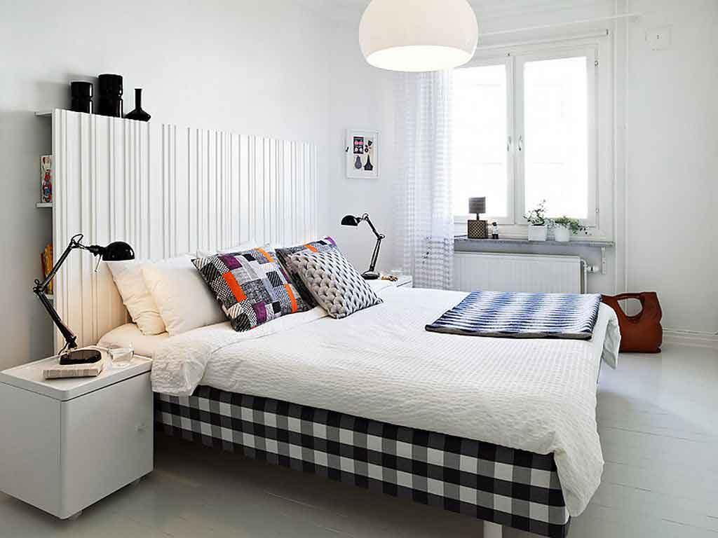 cama de matrimonio moderna