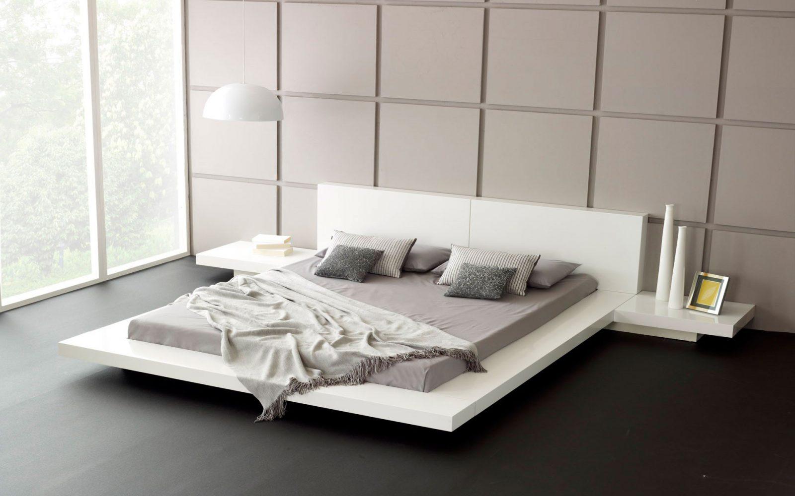 cama de matrimonio para una habitacin moderna - Habitacion Matrimonio Moderna