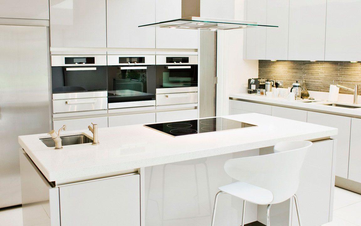 Galer a de im genes muebles de cocina modernos sin tiradores - Tiradores de muebles ...