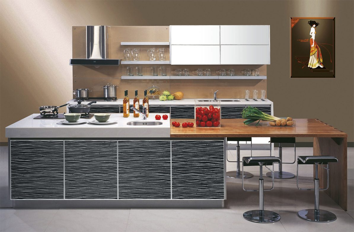 Galer as de im genes de deco moderna for Contemporary kitchen designs 2014