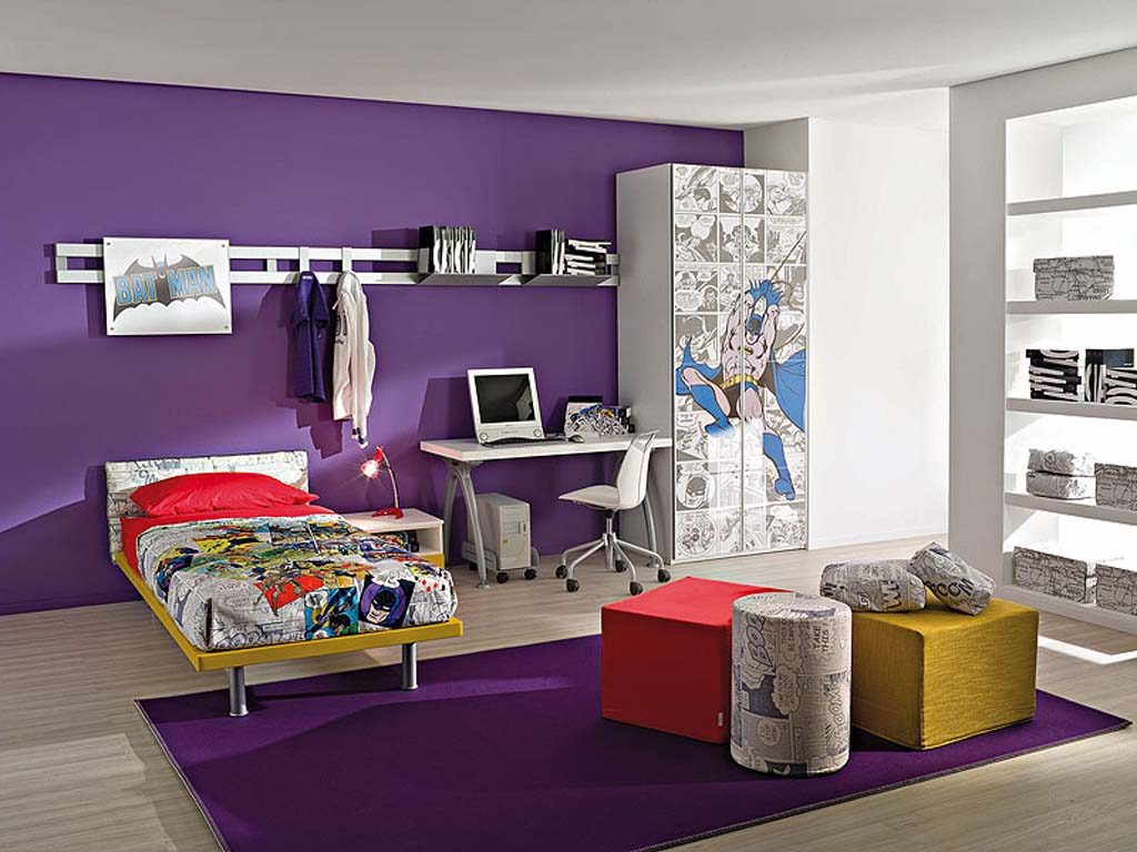 Purple Kids Room Ideas