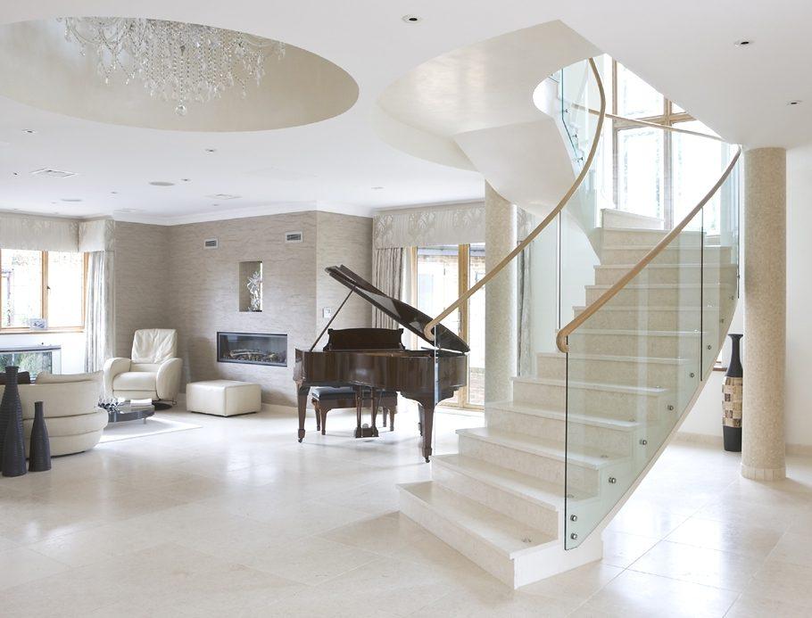 escaleras para interiores modernos