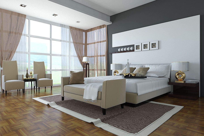 Habitaci n moderna y elegante im genes y fotos for Habitaciones modernas para adultos