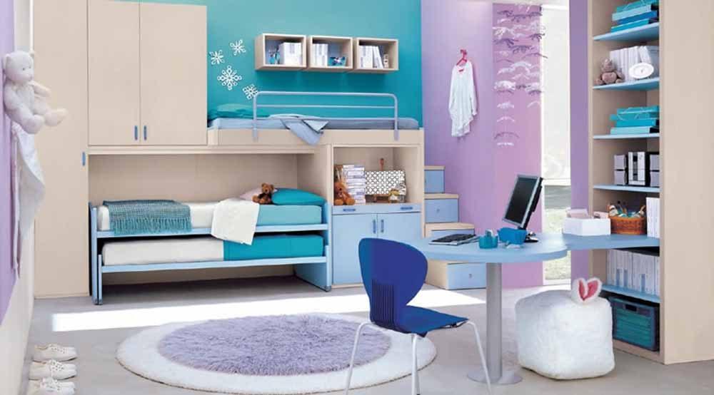 Habitaciones juveniles modernas for Simulador decoracion