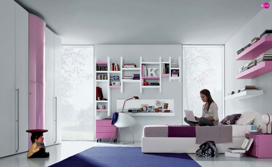 habitaciones para adolescentes modernas im genes y fotos. Black Bedroom Furniture Sets. Home Design Ideas