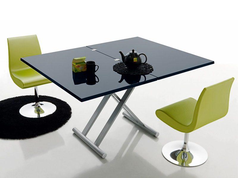 Galer a de im genes mesas modernas for Mesas modernas