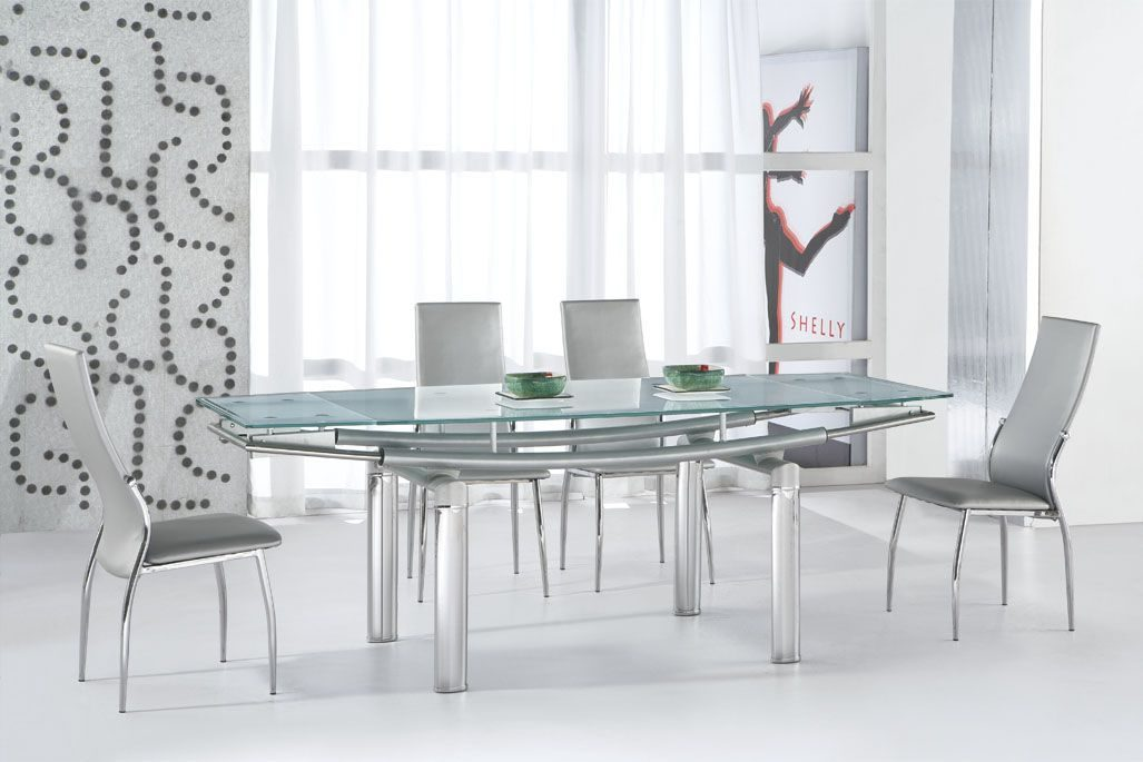 Mesas modernas - Dining room tables with extensions in design ...