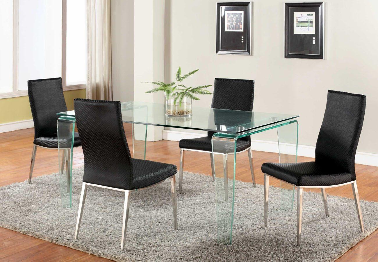 mesas y sillas de saln modernas
