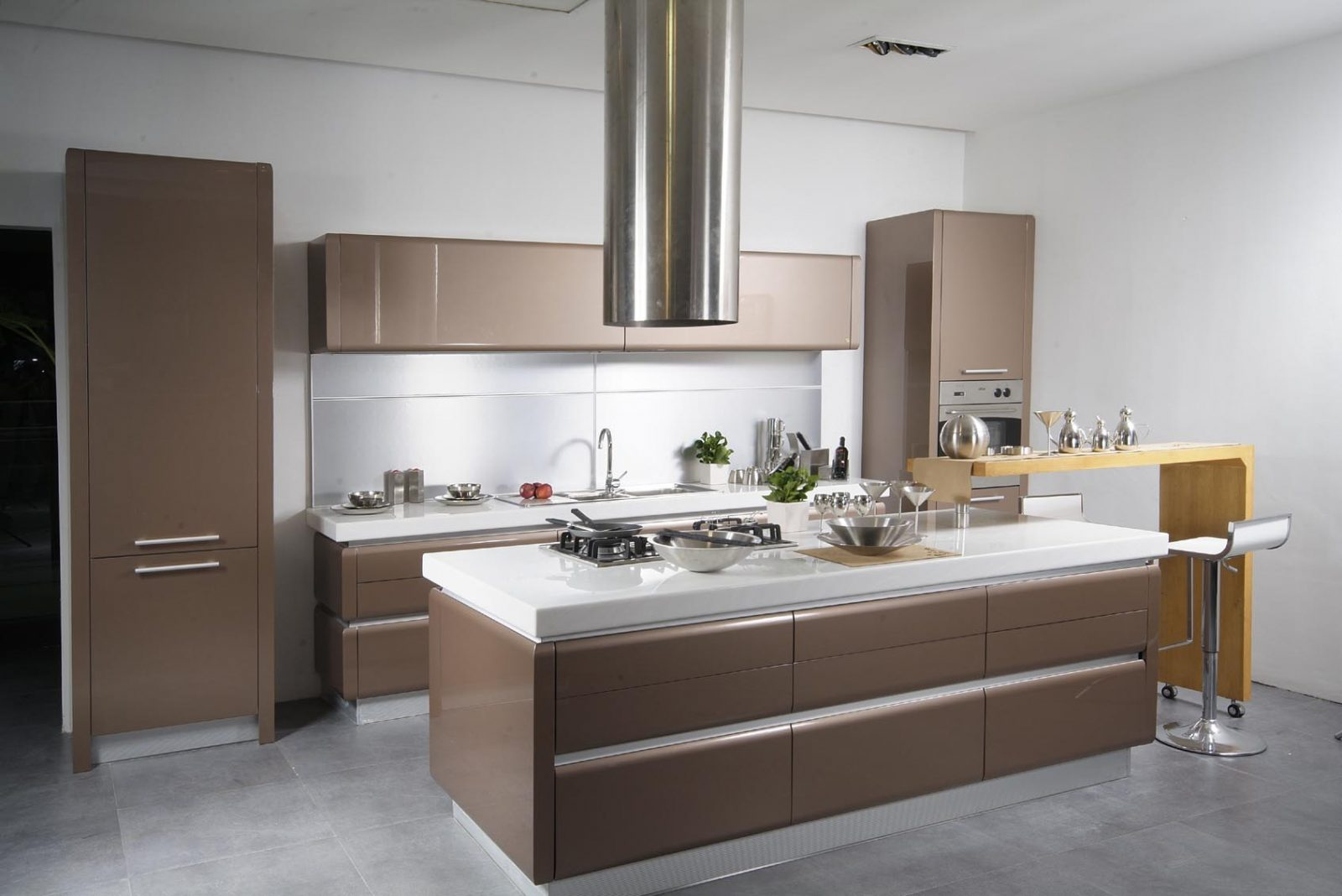 Muebles de cocina de melamina im genes y fotos Fotos de cocina