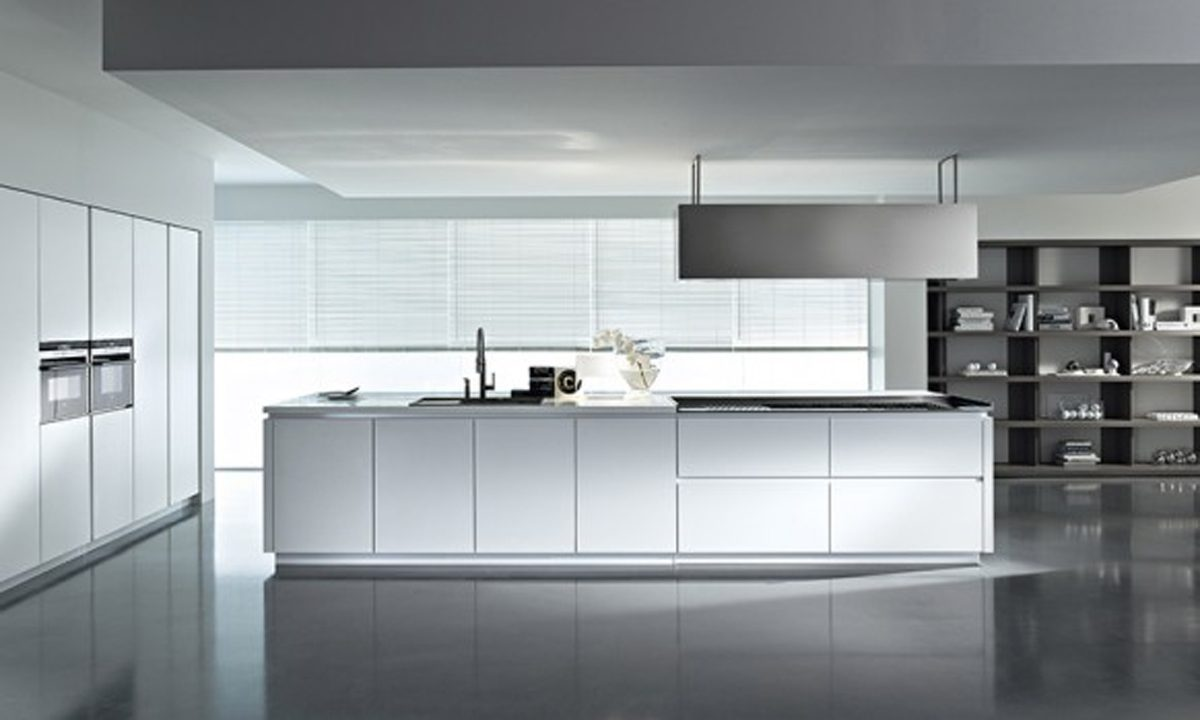 Modern italian kitchen designs from pedini - Muebles De Cocina Modernos Blancos Im 225 Genes Y Fotos