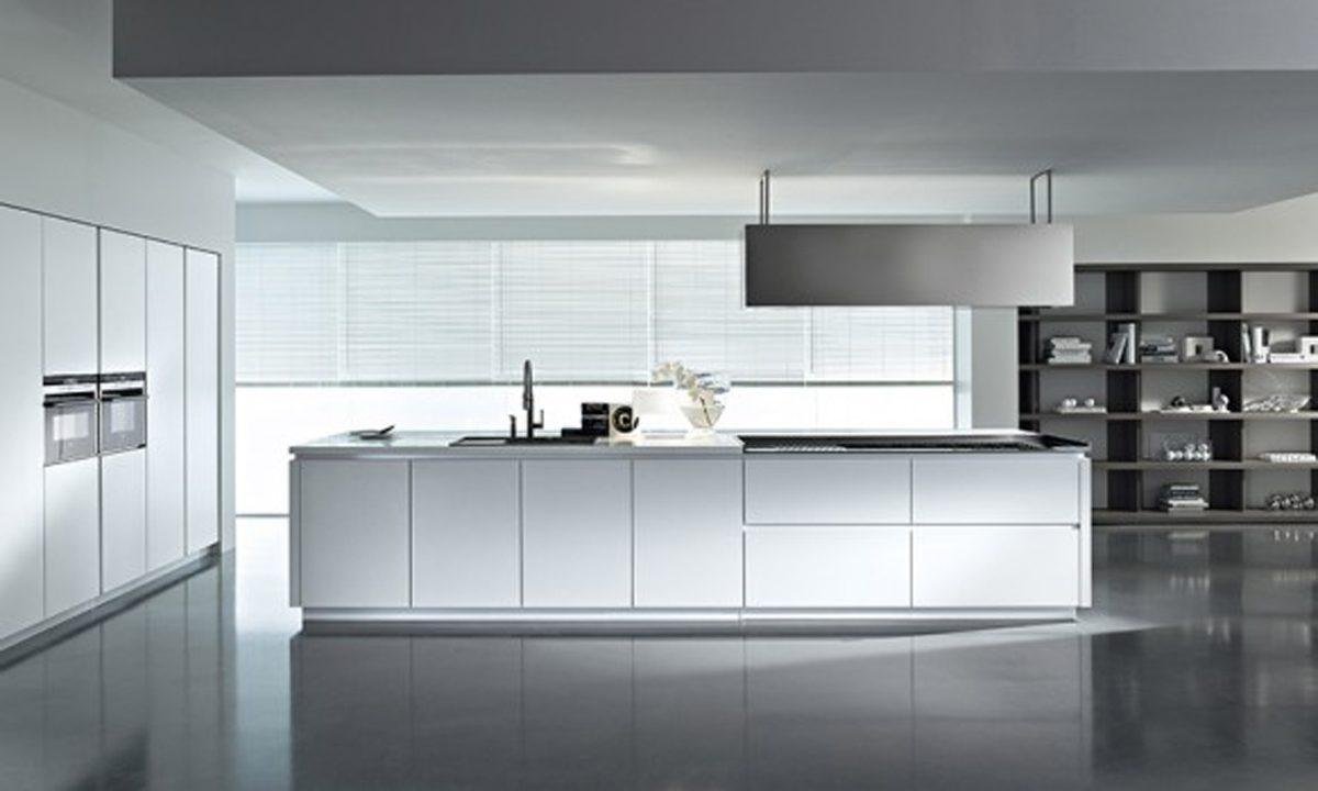 Muebles de cocina modernos blancos :: Imágenes y fotos