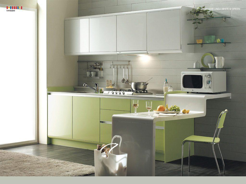 Galer a de im genes muebles de cocina modernos sin tiradores - Colores de muebles ...