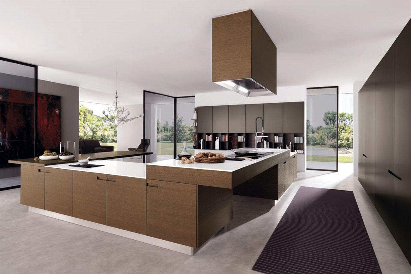 Galería de imágenes: Muebles de cocina modernos sin tiradores