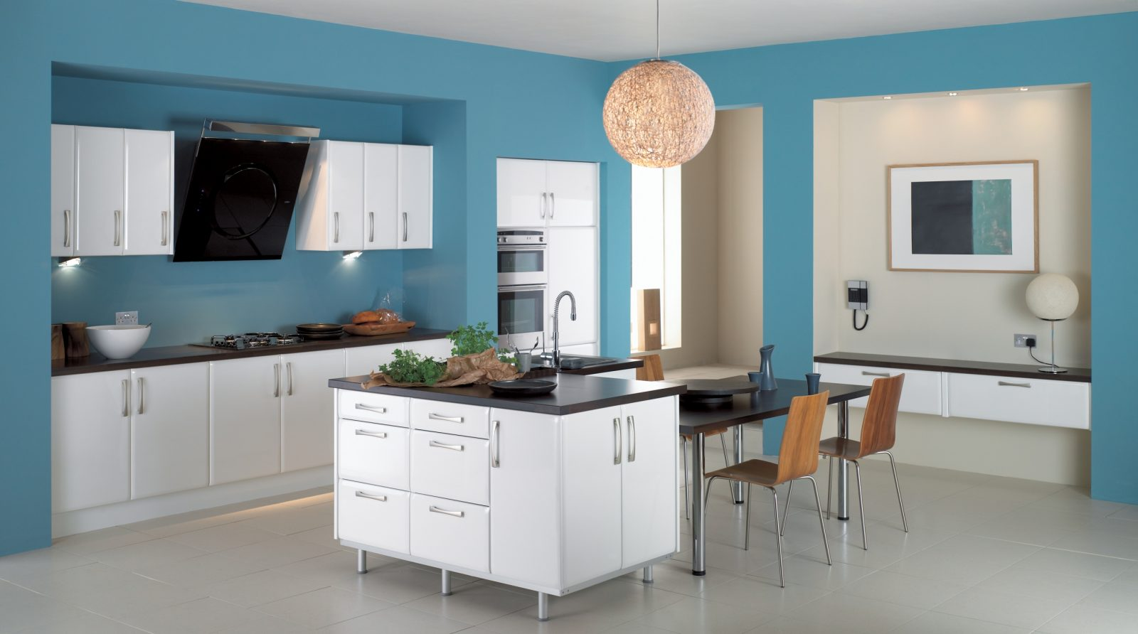 Muebles modernos de cocina im genes y fotos for Muebles de cocina pequena modernos
