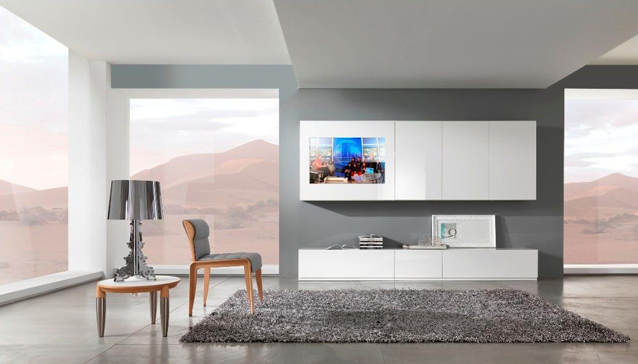 Muebles modernos para el sal n - Salones juveniles modernos ...