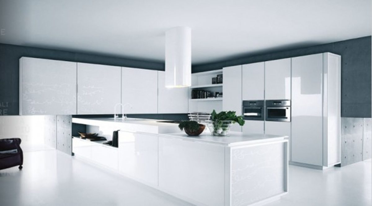 Galer a de im genes muebles de cocina modernos sin tiradores - Tiradores de cocina modernos ...