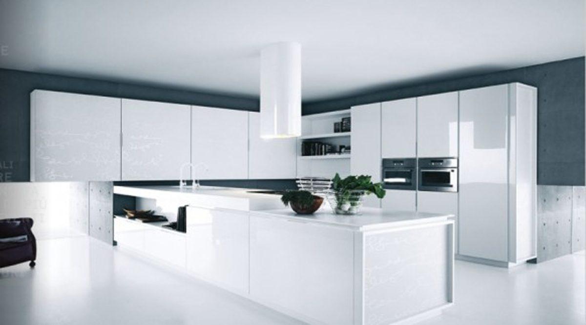 Galer a de im genes muebles de cocina modernos sin tiradores for Cocinas amoblamientos modernos