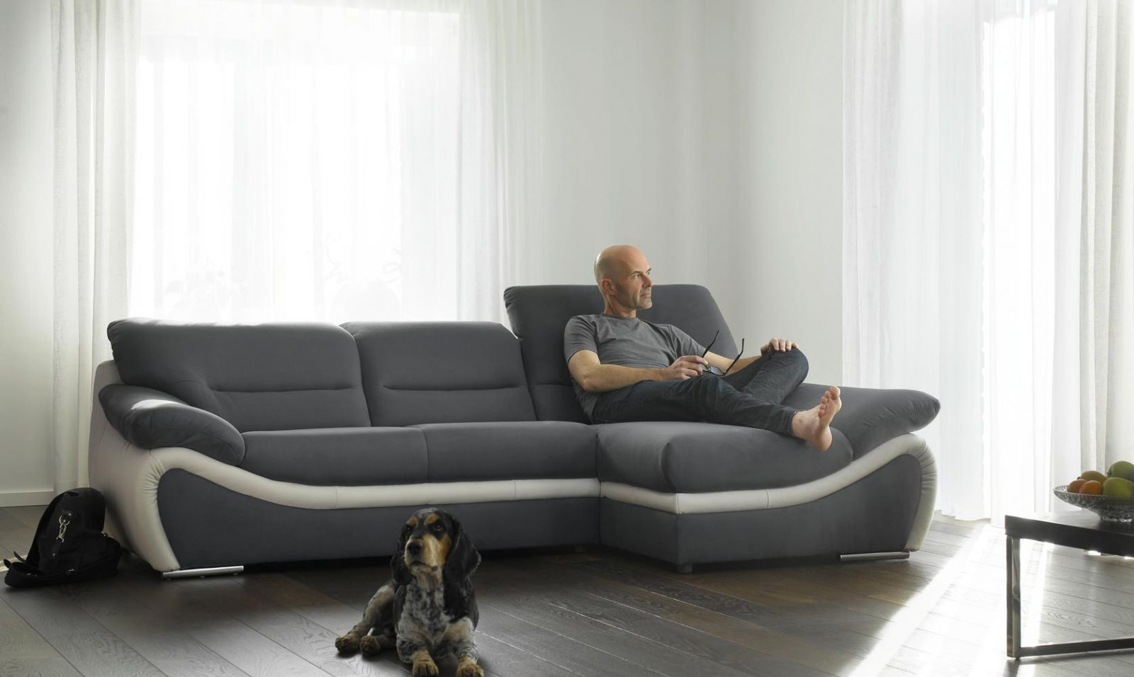 Sof chaise longue contempor neo im genes y fotos for Sofas contemporaneos