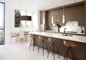 Iluminaci n de una cocina moderna - Iluminacion en cocinas modernas ...